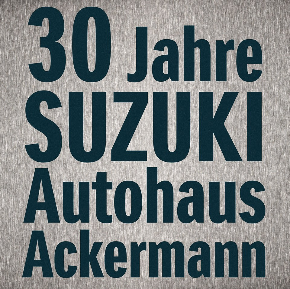 30 Jahre Suzuki Autohaus Ackermann