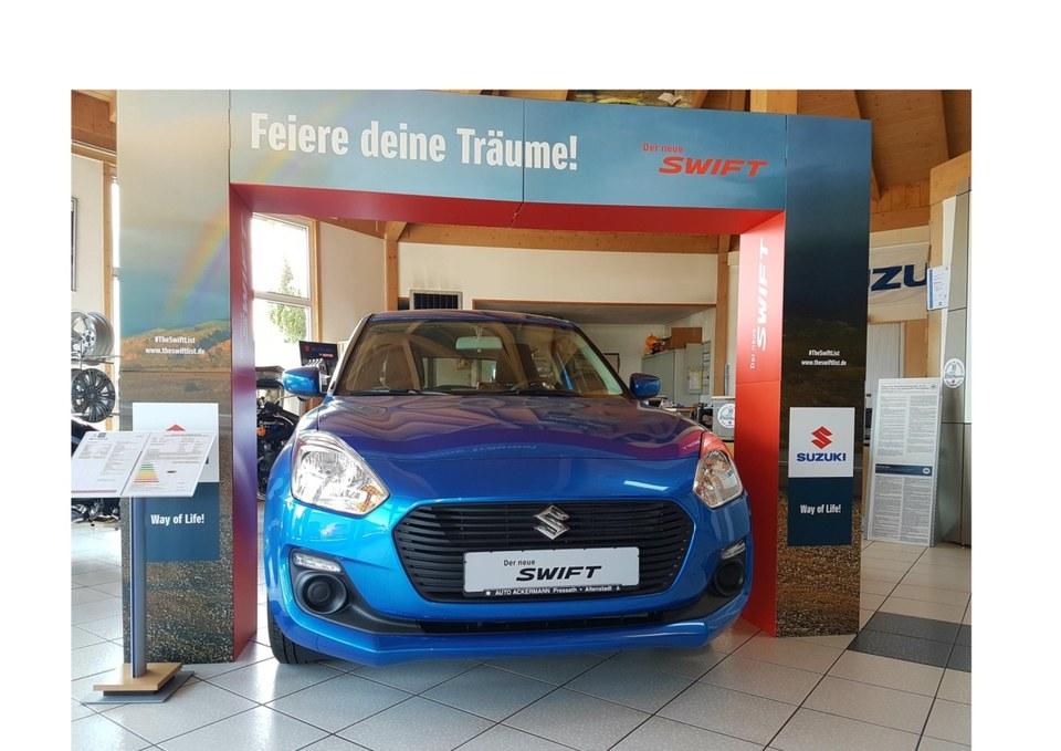 Verkaufshalle Autohaus Ackermann in Pressath