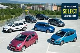 Unsere Suzuki SELECT Gebrauchtwagen