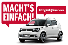 Macht's einfach: Suzuki Ignis