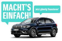 Macht's einfach: Suzuki SX4 S-Cross