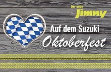 Suzuki Jimny Einführung Oktoberfest