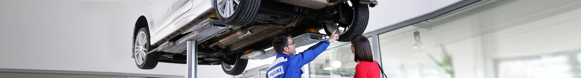 Suzuki Service Header
