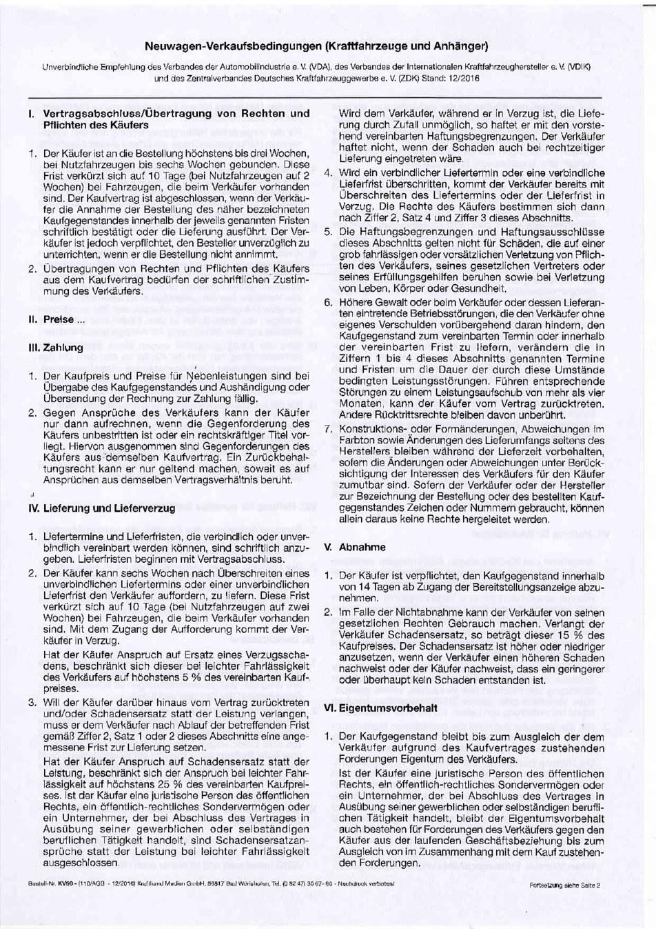 AGB Neuwagen Seite1/2