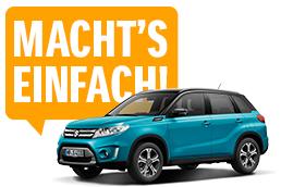 Macht's einfach: Suzuki Vitara