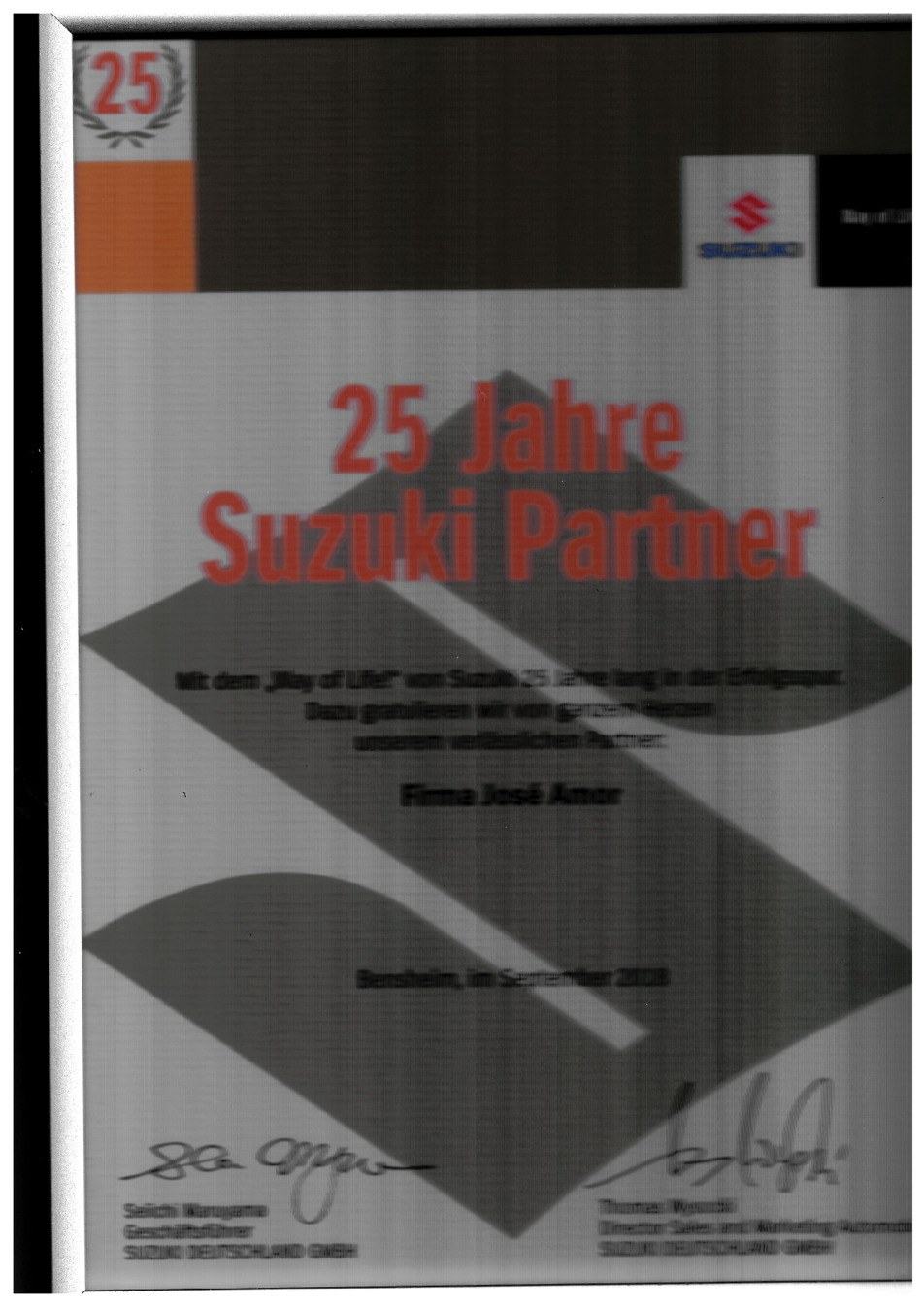 25 Jahre Suzuki Partner