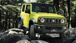 Jimny in gelb