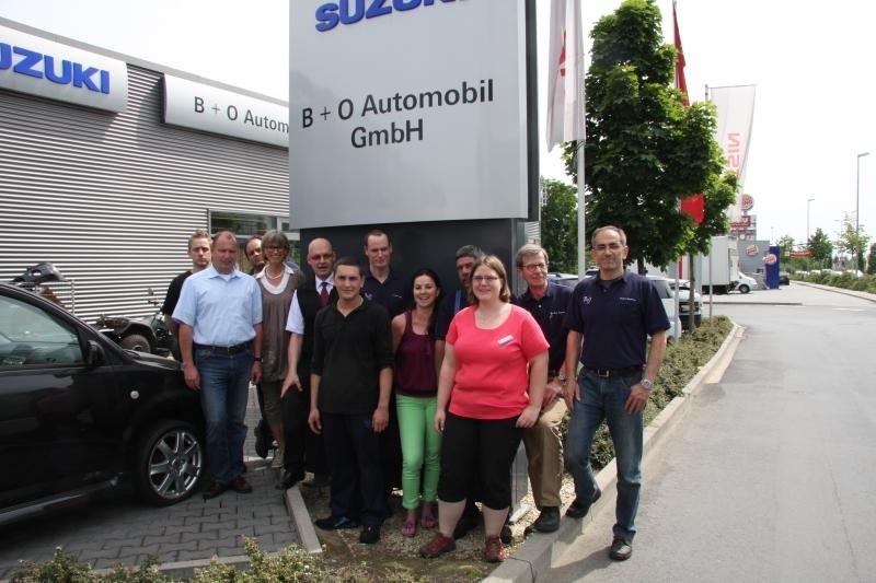 Das B + O Automobil Team