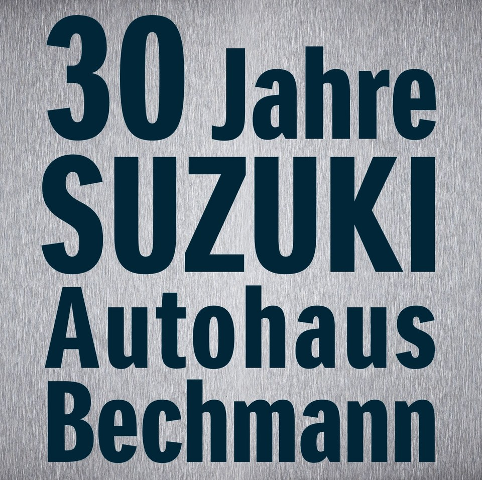 2017 - 30 Jahre Suzuki im Autohaus Bechmann