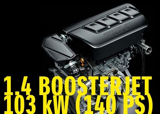 1,4 L. Boosterjet 140 PS
