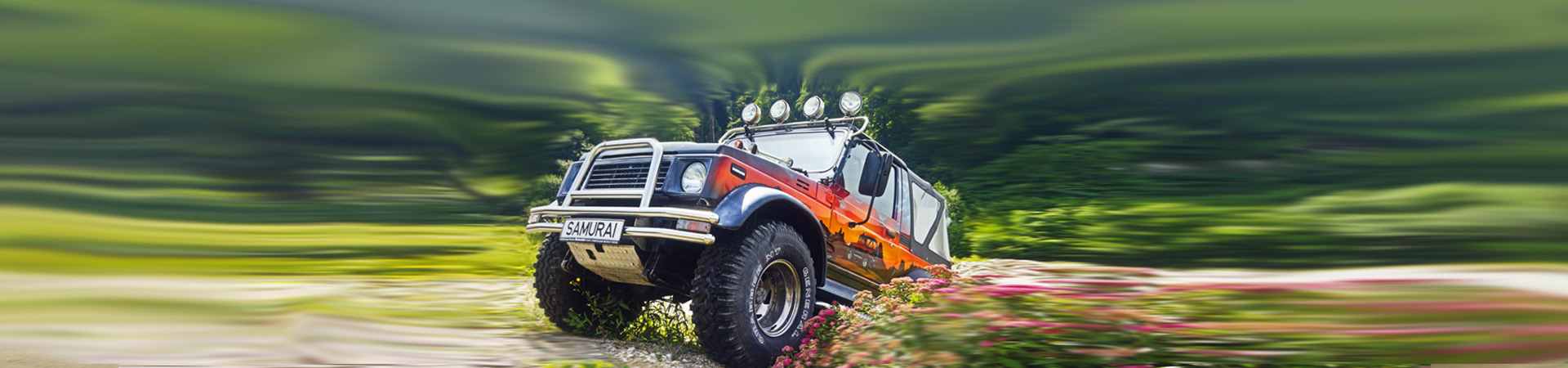 Monster Umbau Jimny