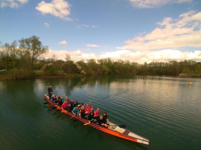 Drachenbootrennen Autohaus Bethel