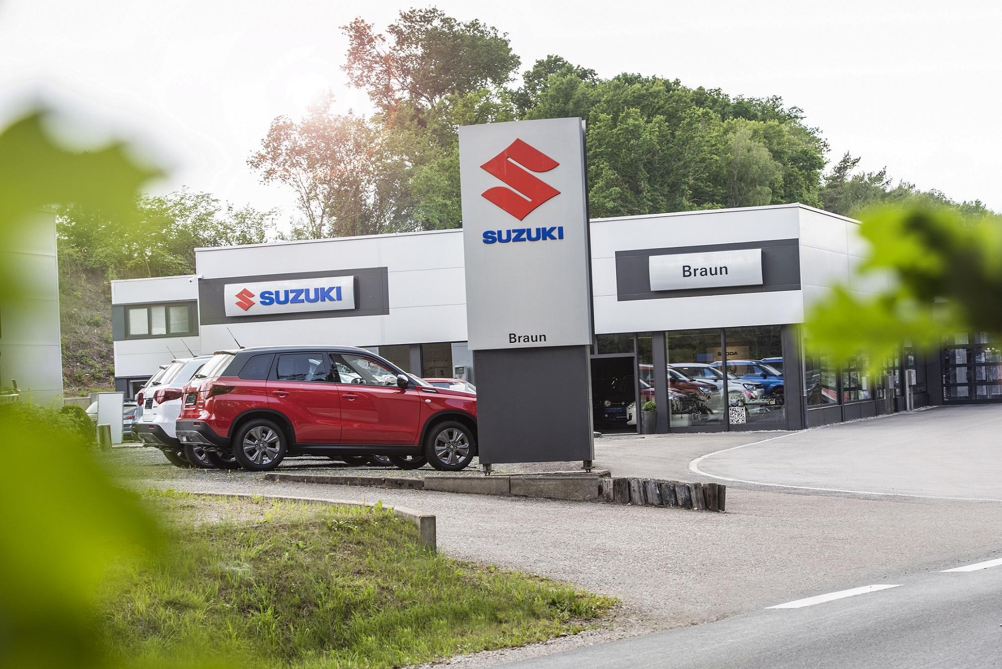 Front Autohaus Braun Suzuki