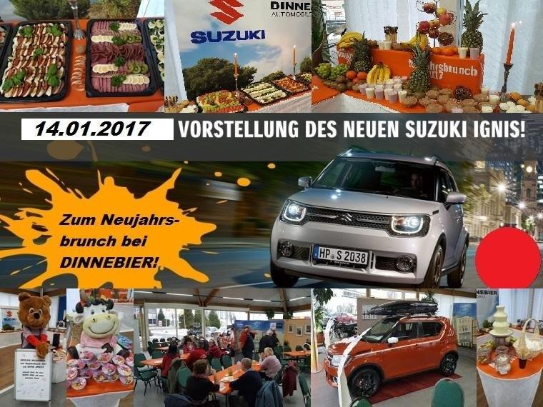 SUZUKI-Neujahrsbrunch und Einführung des neuen IGNIS im Januar 2017