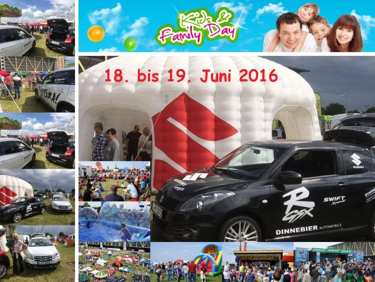 Kids & Family Day im Juni 2016