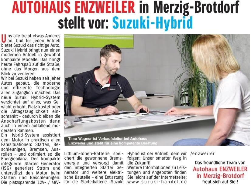 Verkauf Autohaus Enzweiler