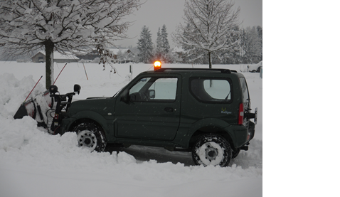 Winterdienst Fotos