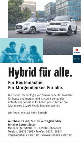 Autohaus Essert Sonderaktion 2020 Suzuki Ignis Hybrid