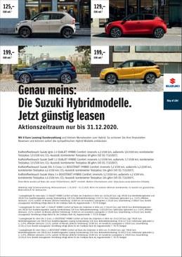 Leasingwochen Suzuki Autohaus Essert