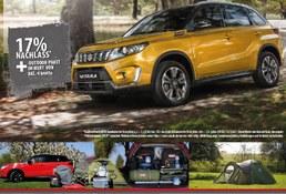 Sonderaktion Gewerbe Suzuki Vitara 17% Nachlass* inklusive Outdoor Paket im Wert von 882,-€ brutto