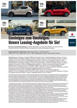 Suzuki Range Leasing Autohaus Essert