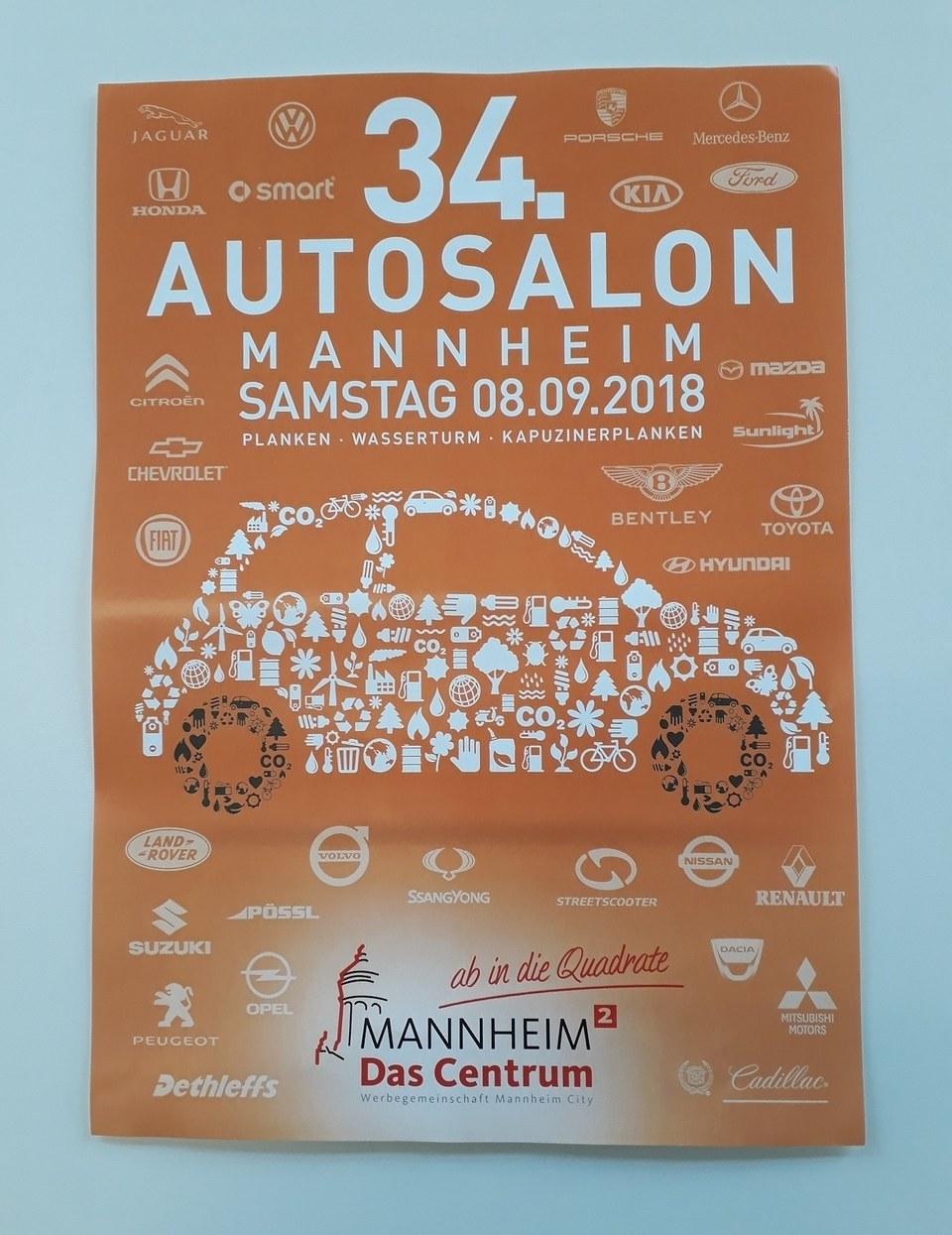 Autosalon Mannheim