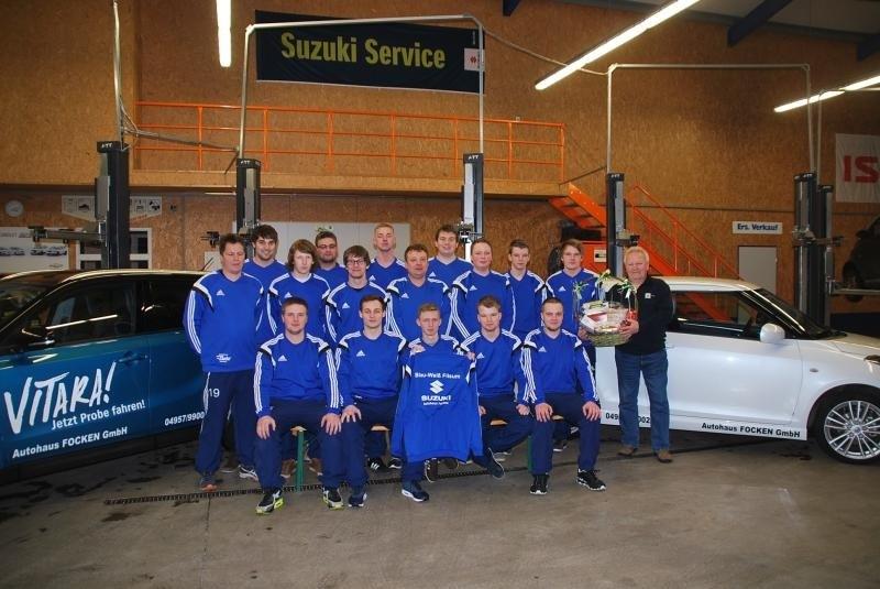 2. Herrenmannschaft Blau-Weiss Filsum