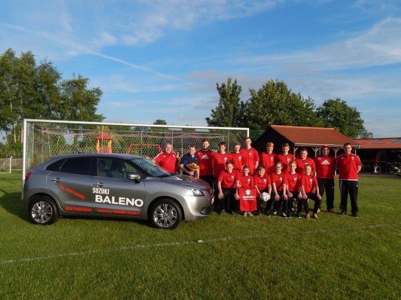 C-Jugendmannschaft TSV Lammertsfehn