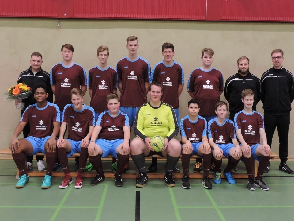 B2 Jugendmannschaft TSV Lammertsfehn