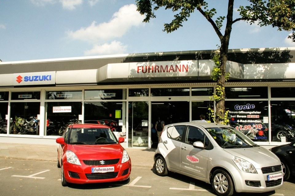 Fuhrmann Motor - Ihr Händler für Suzuki Fahrzeuge