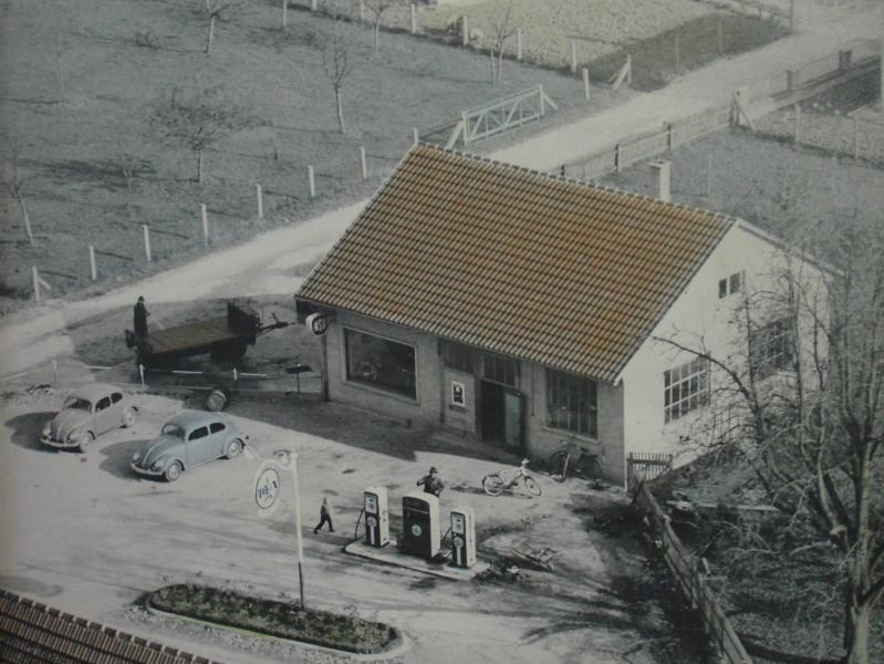 Werkstatt mit Tankstelle