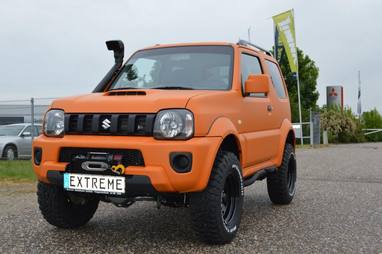 Suzuki Jimny und Gr. Vitara EXTREME Series