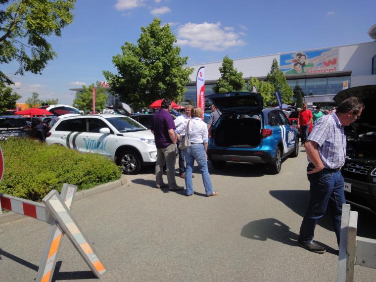 Autoshow am Fachmarktzentrum Straubing