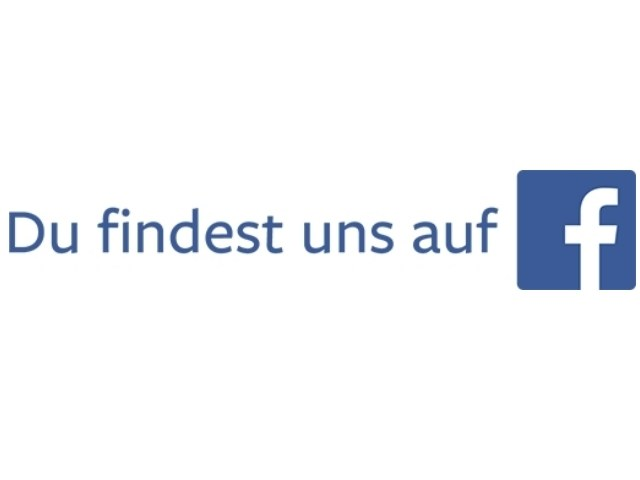 Du findest uns auf Facebook