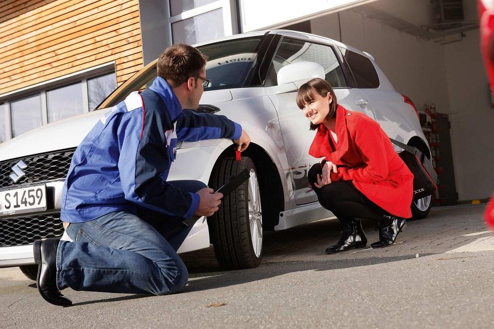 Suzuki Service Reifen
