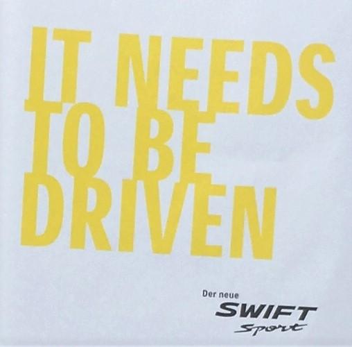 Swift Sport Premierenfeier