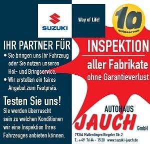 Inspektion aller Fabrikate