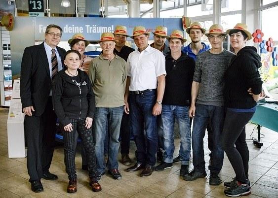 Unser kompetentes Team vom Autohaus Kaus freut sich auf Ihren Besuch.