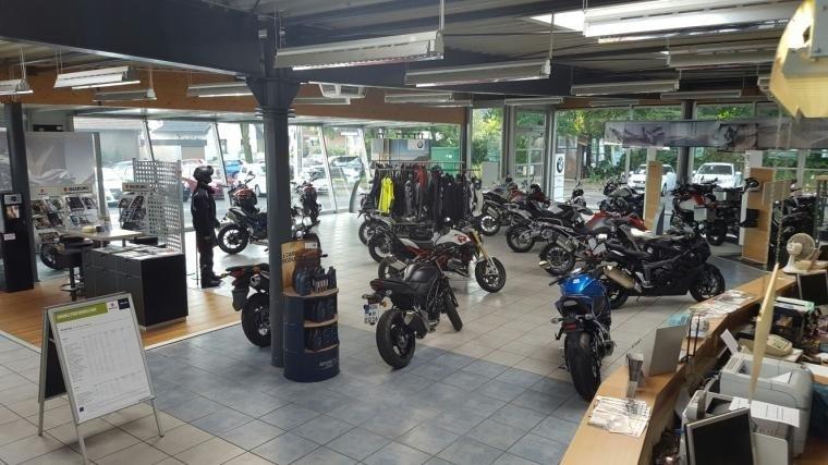 Motorrad Ausstellungsraum