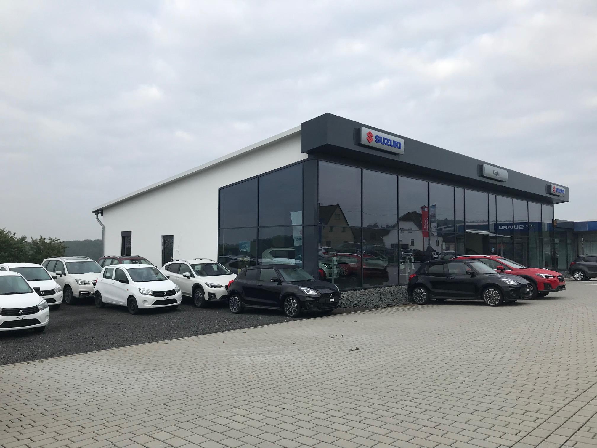 Neue Suzuki Halle