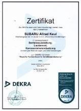 Dekra zertifizierter Fachbetrieb