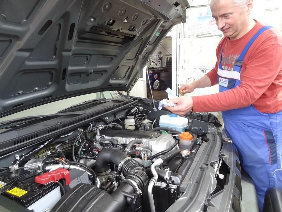 Mechaniker Jürgen Stein