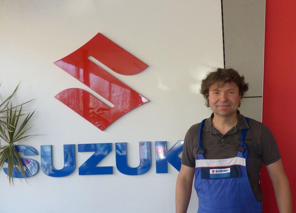 Suzuki Vitara Seitenansicht