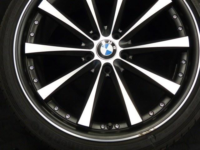 BMW Felge vor der Beseitigung der Bordsteinbeschädigungen