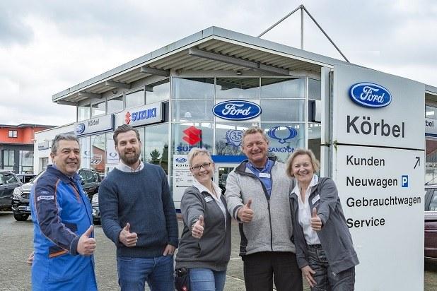 Ihr Autohaus Körbel-Team