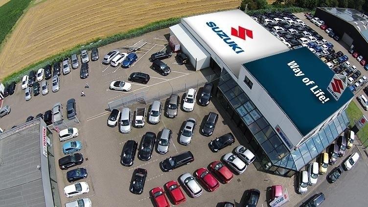 Suzuki Standort Wesel Vogelperspektive