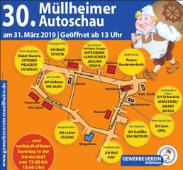 30. Müllheimer Autoschau am 31. März 2019