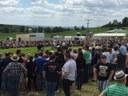 Suzuki Ausstellung beim Feuerwehrfest in Trendel (Mai 2017)