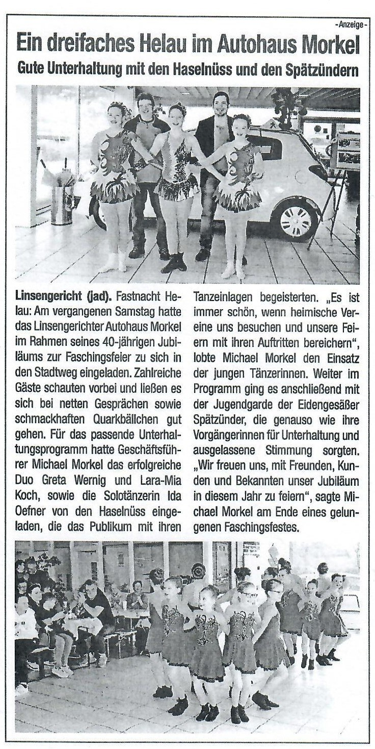 40 Jahre Autohaus Morkel