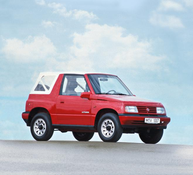 Vitara through the years